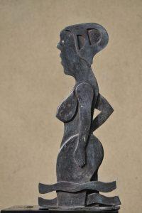 Baadster - Rein Dool, 57 cm hoog. brons 2005
