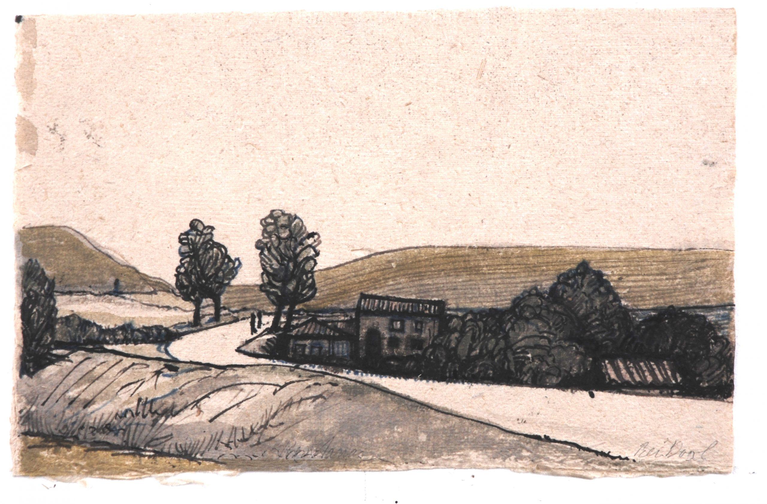 Castilla y Leon - Rein Dool, 19,5x13,5 cm. inkt 2005
