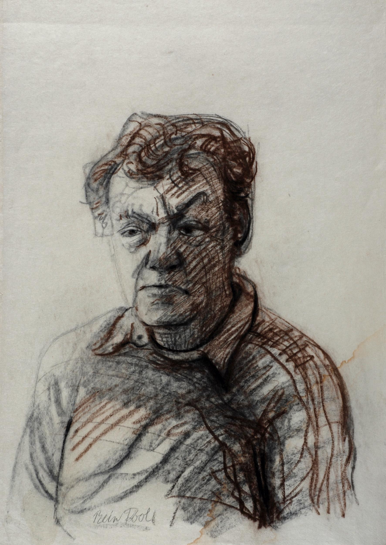 Jan Eijkelboom - Rein Dool houtskool