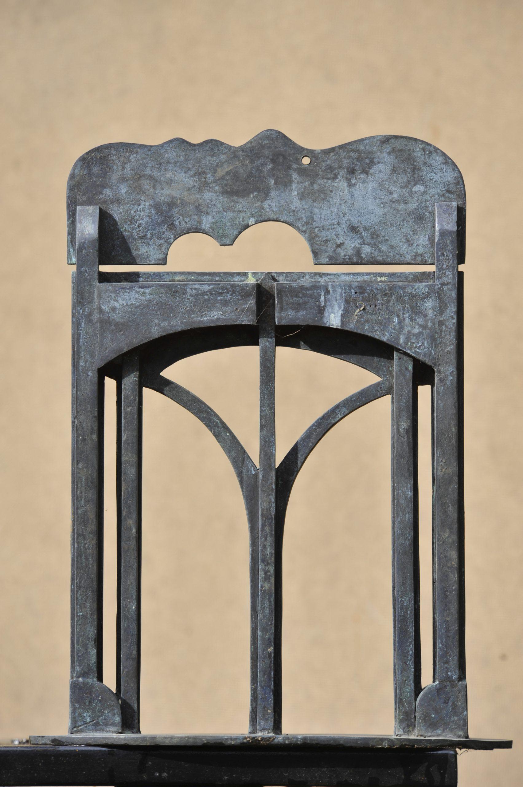 Liggend hoofd - Rein Dool, 40 cm hoog. brons 2008