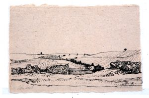 Los Balbases - Rein Dool, 20x30 cm. inkt 2005