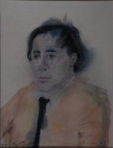 Maarten Biesheuvel - Rein Dool, aquarel