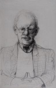 Theo Sontrop - Rein Dool, houtskool