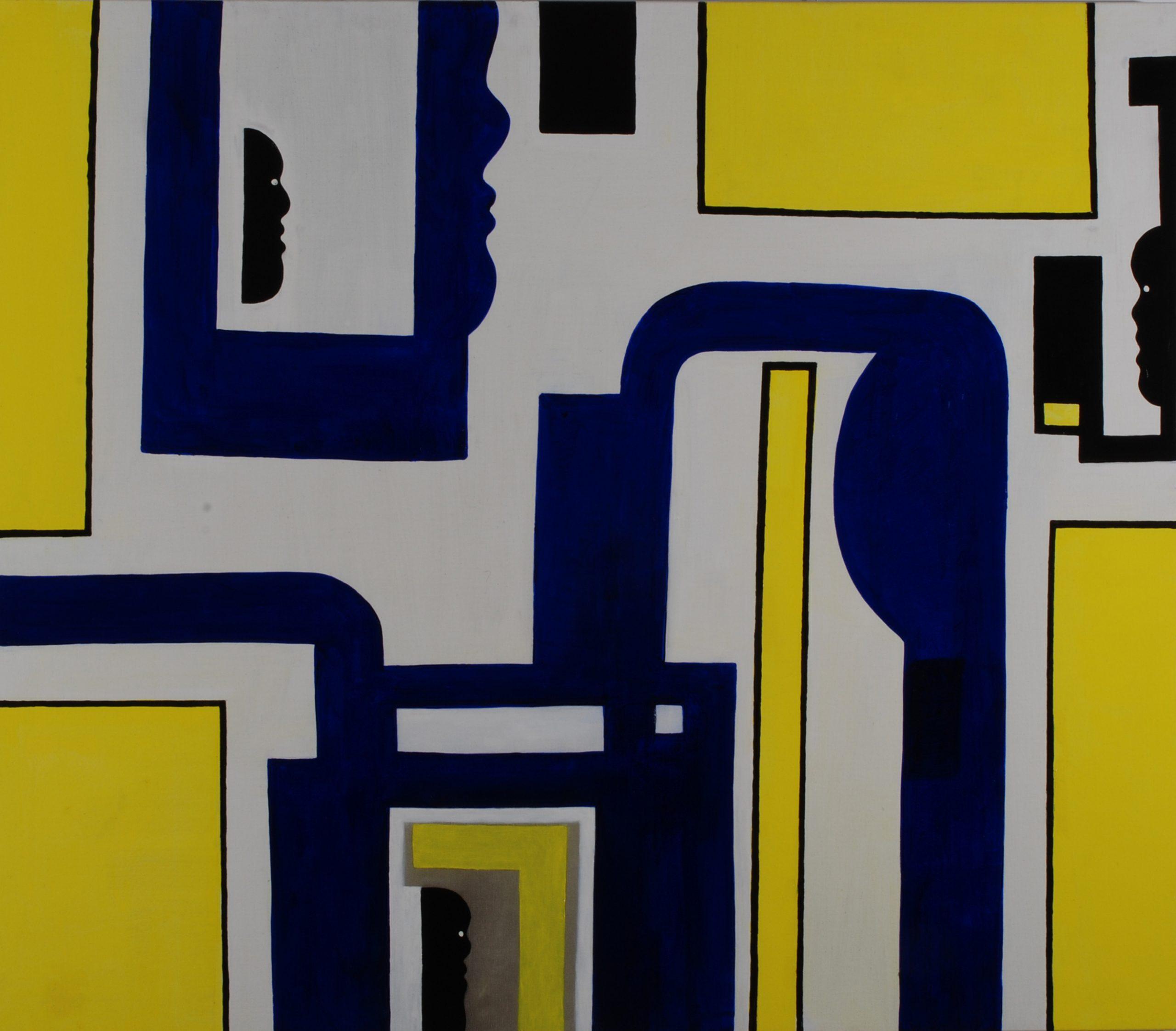 Z.T. - Rein Dool, 135x150 cm. olie tempera 2006