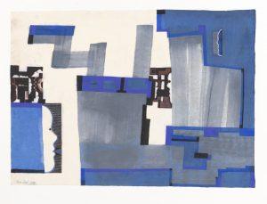 Z.T. - Rein Dool, 50x70cm, aquarel 2020
