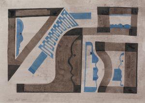 Z.T. ReinDool, 25x35cm, aquarel 2020