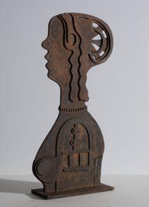de Florentijnse - Rein Dool, 64 cm hoog. brons 2009